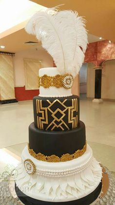 Great Gatsby Cake
