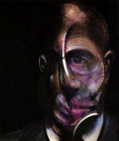 """Dans ses autoportraits, Francis Bacon (1909-1992) le peintre se représente, tel qu'il se voit de l'intérieur, avec son sentiment de mal être, obnubilé par sa """"laideur"""" tant physique que psychique, il a peint plus d'une centaine d'autoportraits parfaitement défigurés, comme de la chair en dégénérescence."""