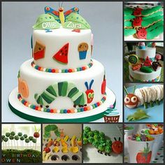 Top Tips for Children's Party Planning: Very Hungry Caterpillar Party Inspiration