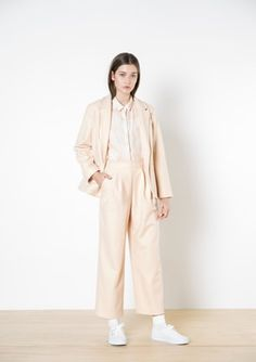 Twenty-Seven Names - Alice Blazer - Peach The Twenties, Duster Coat, Peach, Normcore, Design Inspiration, Blazer, Alice, Names, Casual