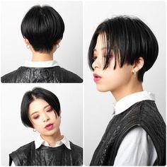 Short Hair Tomboy, Asian Short Hair, Short Hair Cuts, Short Hairstyles For Women, Cute Hairstyles, Levi Haircut, Hair Inspo, Hair Inspiration, Hair Due