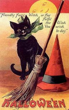 Google Image Result for http://vintageholidaycrafts.com/wp-content/uploads/2008/07/vintage-halloween-black-cat-broom-withes-hat-full-moon-card.jpg