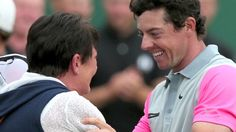 British Open: Rory McIlroy matches greats with Hoylake triumph British Open, Rory Mcilroy, Golf, Couple Photos, Couple Photography, Couple Pics, Wave, Polo Neck
