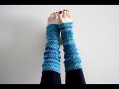 How To Crochet Yoga Socks - YouTube