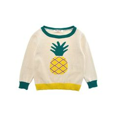 intarsia pina jumper, nice things mini