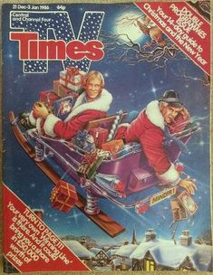 TV Times Christmas 1985 with Dennis Waterman and George Cole cover. 1980s Childhood, My Childhood Memories, Sweet Memories, Christmas Past, Retro Christmas, Nostalgic Images, 80s Kids, Old Magazines, The Good Old Days