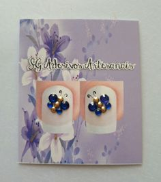 Borboleta azul #joiaparaunha #joiasparaunhas #joiadeunha #joiasdeunha Nail Jewels, Swarovski, Nail Envy, Projects To Try, Nail Designs, Nail Art, Crystals, Nails, Fun