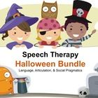 Speech Therapy Halloween Bundle:   This packet has something for everyone on your caseload!  -Yes/No Questions -WH Questions: Who, What, When, Wher...