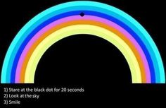 Super Cool Optical Illusion To Brighten Up Your Day