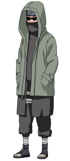 Shino Aburame, parasitic insect ninja