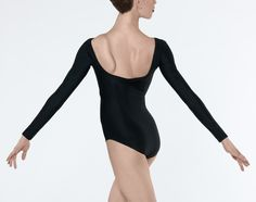 SABA - Long sleeved leotard with pinch back and front. http://www.wearmoi.com/store/item/220-saba