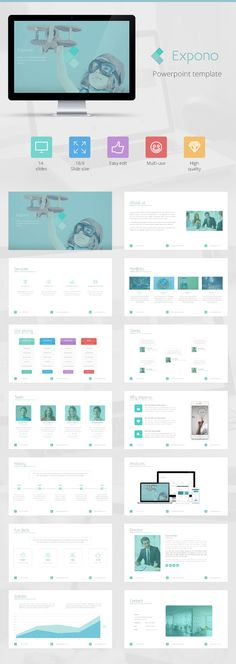 strong powerpoint - multipurpose presentation (powerpoint, Powerpoint templates