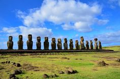 Pääsiäissaari, Easter Island, moai - All pages by Annu Easter Island, South America, Ticket, Lily, Mountains, Nature, Travel, Viajes, Lilies