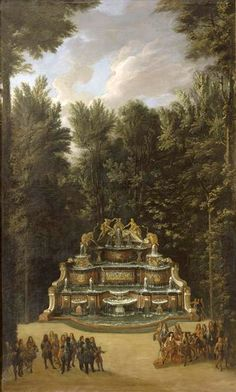 The Fountains of Versailles in the Time of Louis XIV:  Buffet d'Eau (Chatelain)