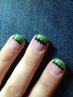 Halloween nails ;)