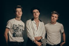 Quick fire catch up with New Hope Club, the British pop trio formed of Blake Richardson, George Smith and Reece Bibby, signed to The Vamps' record label. Blake Richardson, Club Magazine, Reece Bibby, New Hope Club, Disney Music, Our Friendship, The Vamps, Music Bands, Music Artists