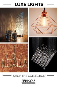Looking to revamp your home for Autumn? Changing your lighting can make a huge difference, turning your house into a cosy home. With our gorgeous selection of contemporary and traditional lighting, you can easily change the look and feel of your home without spending a fortune.