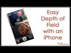 Easy Depth of Field iPhone | Photography Tip for creating pinnable images for Pinterest