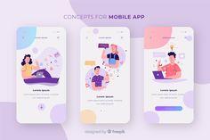 Concept D'application Mobile – Design is art App Ui Design, Mobile App Design, Design Responsive, Mobile Application Design, Mobile App Ui, Web Design Trends, User Interface Design, Design Web, Flat Design