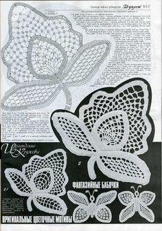 Duplet 117 Russian crochet patterns magazine