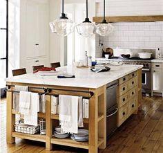 Nada como una Isla para añadir funcionalidad a nuestra cocina.  #mueblesdecocina #CocinasMadrid #Isla