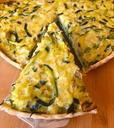 Quiches, Salty Foods, Savory Tart, Pesto Pasta, Zucchini, Vegan Recipes, Food And Drink, Healthy Eating, Yummy Food