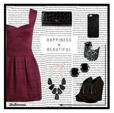 """""""Happiness is Beautiful"""" by dadrumma ❤ liked on Polyvore featuring Diane Von Furstenberg, Giorgio Armani, Kendra Scott, West Coast Jewelry, Stella & Dot, DateNight, happy and Happiness"""