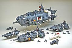 LEGO Microscale Starship Armada