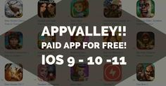 http://ift.tt/2s4QpPa Paid Apps/Cracked App for Free without Jailbreak using AppValley| iOS 9  10  11 http://ift.tt/2t9hKQm  In this post you will learn How to install paid apps and games  cracked apps and games for free using AppValley on your iPhone/iPad without Jailbreak running iOS 9  10 and 11.  A new way to install cracked games and apps has been found in iOS called AppValley alternative to TutuApp that lets you install games and apps on your iPhone/iPad without paying anything. Not…