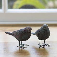 Little Love Bird Pair - ornaments