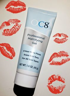 Moonshine Beauty: Sick of Blotting Oily Skin? Check Out OC8's Professional Mattifying Gel