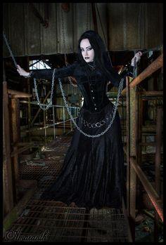 Goth, naughty, naughty