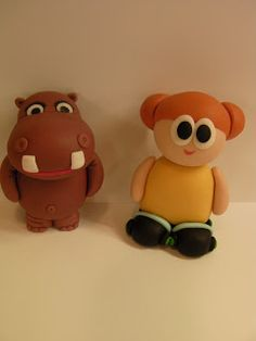 """Studio """"FONDANT DESIGN ANA"""" - Figurice za torte (fondant figures): BABY TV - FONDANT FIGURES"""