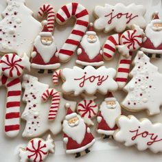 Easy Christmas Cookie Recipes, Christmas Sugar Cookies, Christmas Snacks, Christmas Cooking, Noel Christmas, Christmas Goodies, Holiday Cookies, Christmas Candy, Holiday Treats