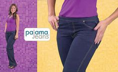"""Pajama Jeans 