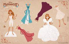 As Princesas Disney para você imprimir em cartolina, recortar e ...