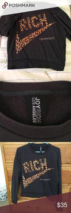 7774bc44c3b6 JOYRICH LA Rich Sweatshirt Original vintage JOYRICH LA sweatshirt.. The  color is a faded · Black ...