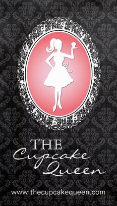 Fully Customizable Cupcake Business Card. Cute silhouette designed by Colourful Designs Inc. Copyright 2013.