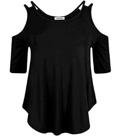 Home of Fashion Cut Out Cold Shoulder Strappy Short Sleeve Dip Curve Hem Top (SM (8-10), Black) The Home of Fashion http://www.amazon.co.uk/dp/B01BKMBNFC/ref=cm_sw_r_pi_dp_X-ZYwb02KT8DE
