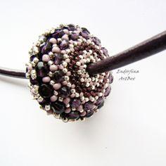 my ufo- beaded- beads http://endorfinaartbox.blogspot.com/2014/04/wiosna-i-ufo.html