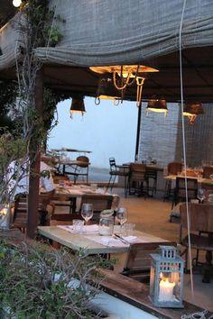 CANA PEPA, restaurante en Formentera. Decoracion rustica