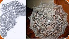 Crochet World added a new photo. Crochet Gifts, Crochet Doilies, Crochet Lace, Lace Umbrella, Lace Parasol, Doily Patterns, Crochet Patterns, Knitting Patterns, Crochet Diagram