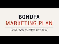 Der Marketing-Plan von BONOFA - Deutsch > The marketing plan of BONOFA - German
