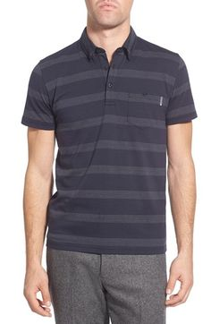 Peter Werth 'Terrace' Trim Fit Short Sleeve Polo Shirt