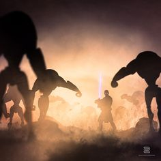 Le Cosmos de Star Wars - I, II, III and before on Behance