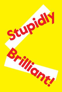 Stupidly Brilliant by Colophon Foundry #illustration