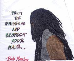 Dreadlocks Man Tshirt Rasta T-shirt Bob Marley's Quote