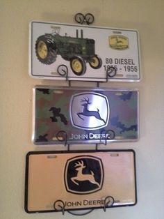 Collection of John Deere License Plates   eBay