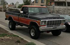 79 Ford Truck, Obs Truck, Cool Trucks, Cool Cars, Ranger 4x4, Classic Ford Trucks, Monster Trucks, Rigs, Vehicles