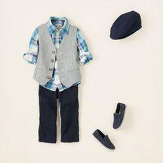 Vest & Blue